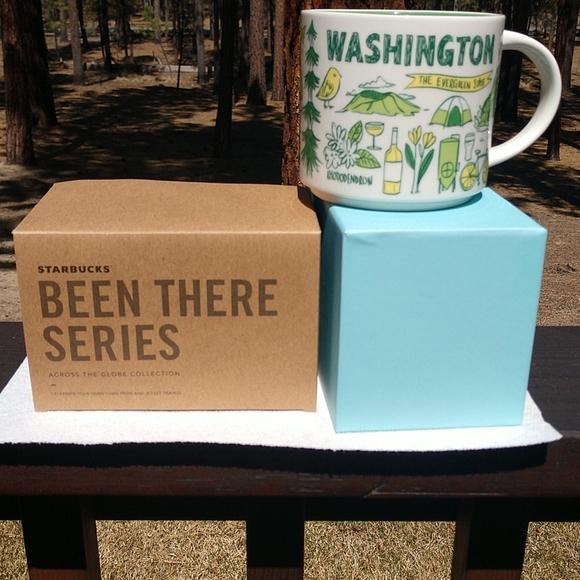 Starbucks Washington Mug Been There Series 14oz